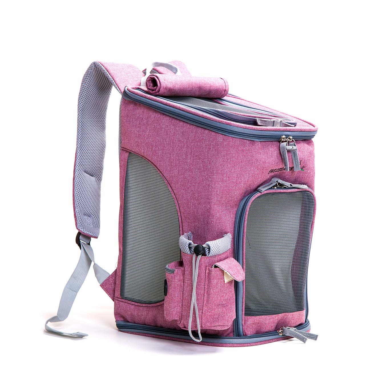 CAR SHUN Borsa Da Viaggio Per Cani Borsa Da Viaggio Per Cani Borsa Da Viaggio Pieghevole Per Cani Da Viaggio Pieghevole,rosa