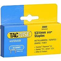 TACWISE 0333 nietjes, 2.000 stuks zilver 54/4mm