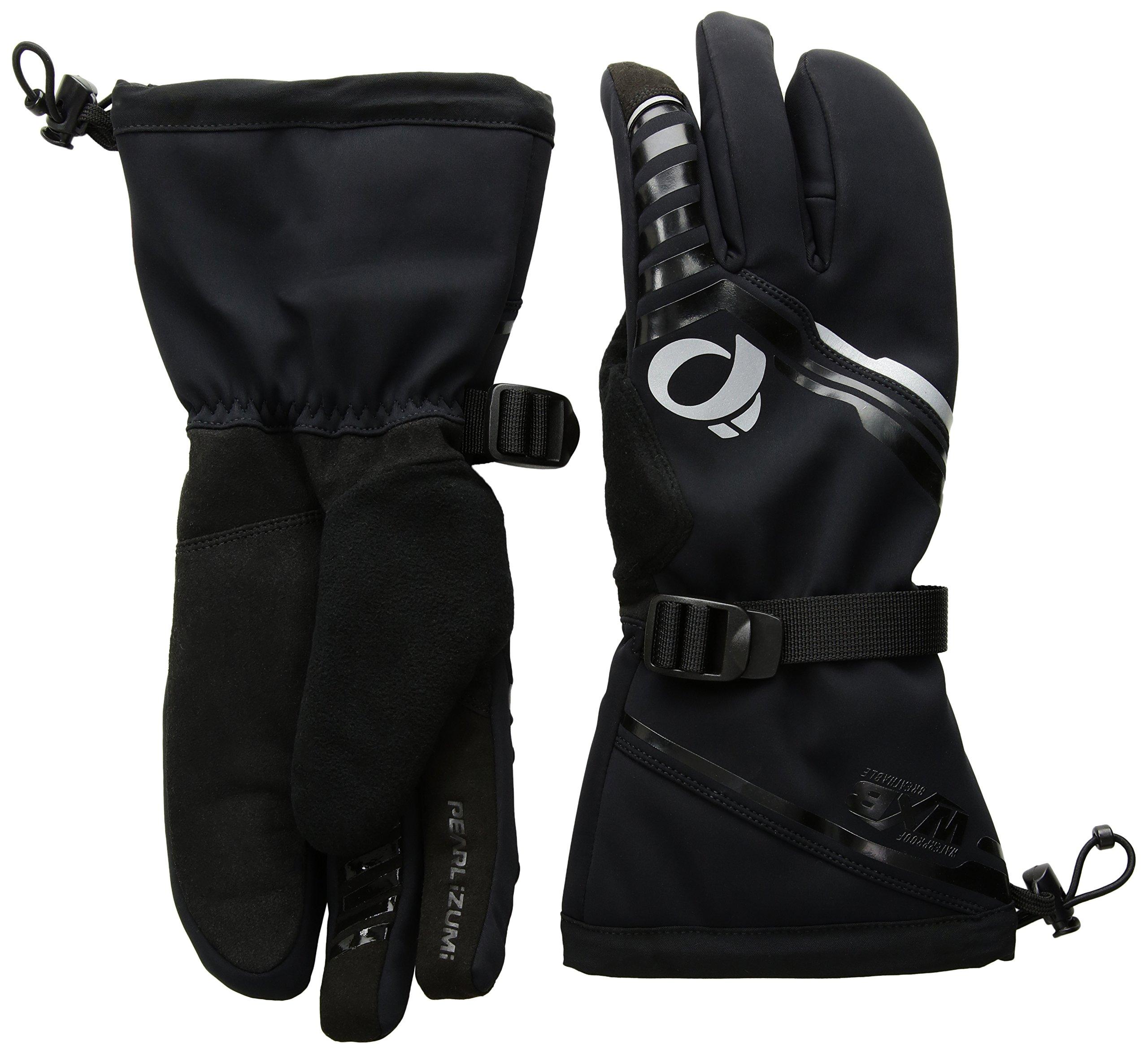 Pearl iZUMi Pro Amfib Super Gloves, Black/Black, Large