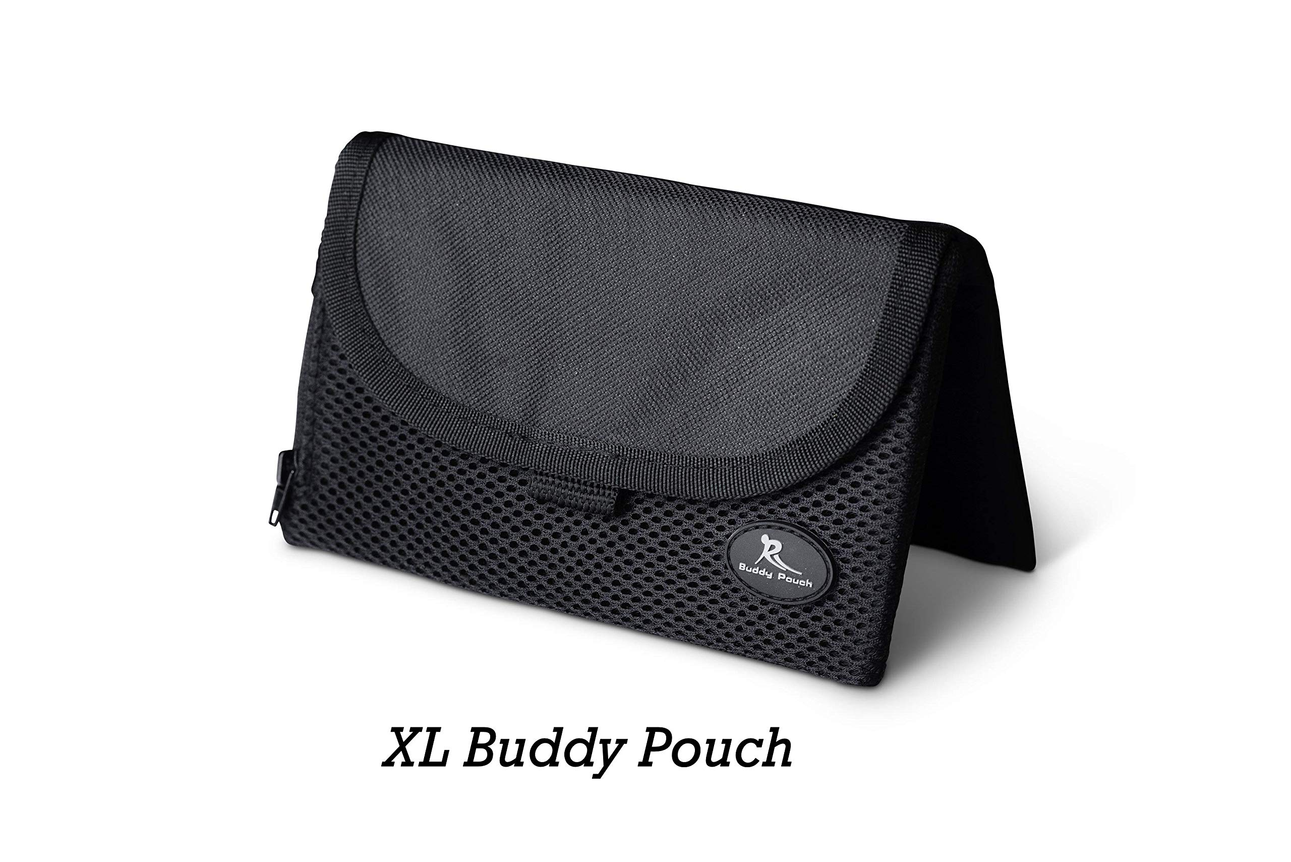 Running Buddy [Highly Rated XL Buddy Pouch - Black
