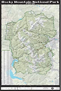 Amazon.com : Trails Illustrated Rocky Mountain National Park Map ...