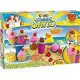 Craze - 54179 - Magic Sand - Glace Et Patisserie 700 Grammes De Sable Magique -