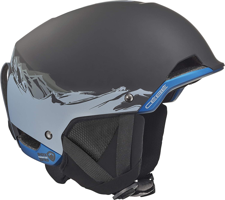 C/éb/é Method Casco de Ski Black Adultos Unisex 54-56 cm