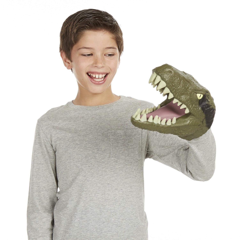 Chomping Velociraptor Kopfpuppe Dinosaurier Welt Figur Spielset Jurassic Park Spielzeug
