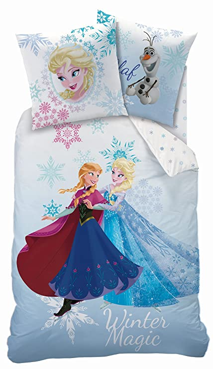 Amazon Funda Nordica Frozen.Funda Nordica Frozen Disney Winter Magic 160x200cm Amazon Es Hogar