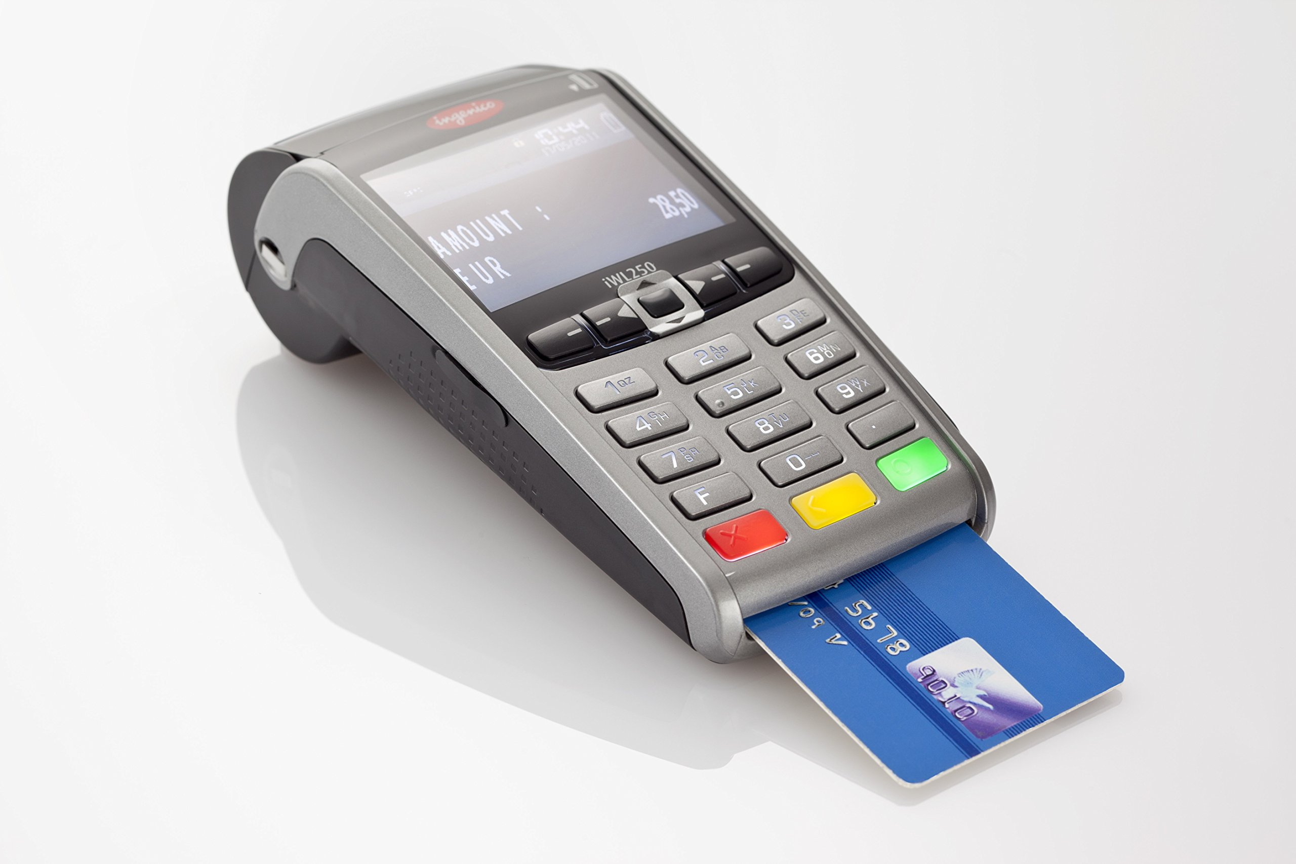 Ingenico iWL10 Wireless GPRS Credit Card Machine- Buy Online in