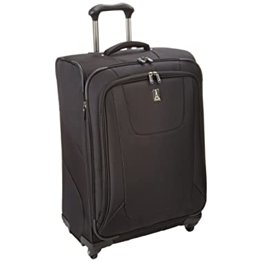 Travelpro Luggage Maxlite3 25 Inch Expandable Spinner, Black, One Size