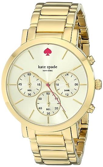 24585b3a2 Kate Spade New York Women's Gramercy 1YRU0715 Gold 1 Watch: Kate Spade:  Amazon.ca: Watches