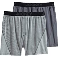 Deals on 2-Pack Jockey Mens No Bunch Boxer