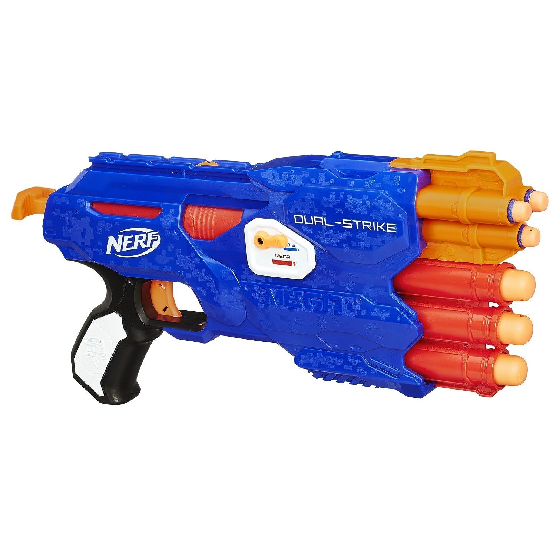 Nerf N Strike Elite Dual Strike Blaster, Multi Color