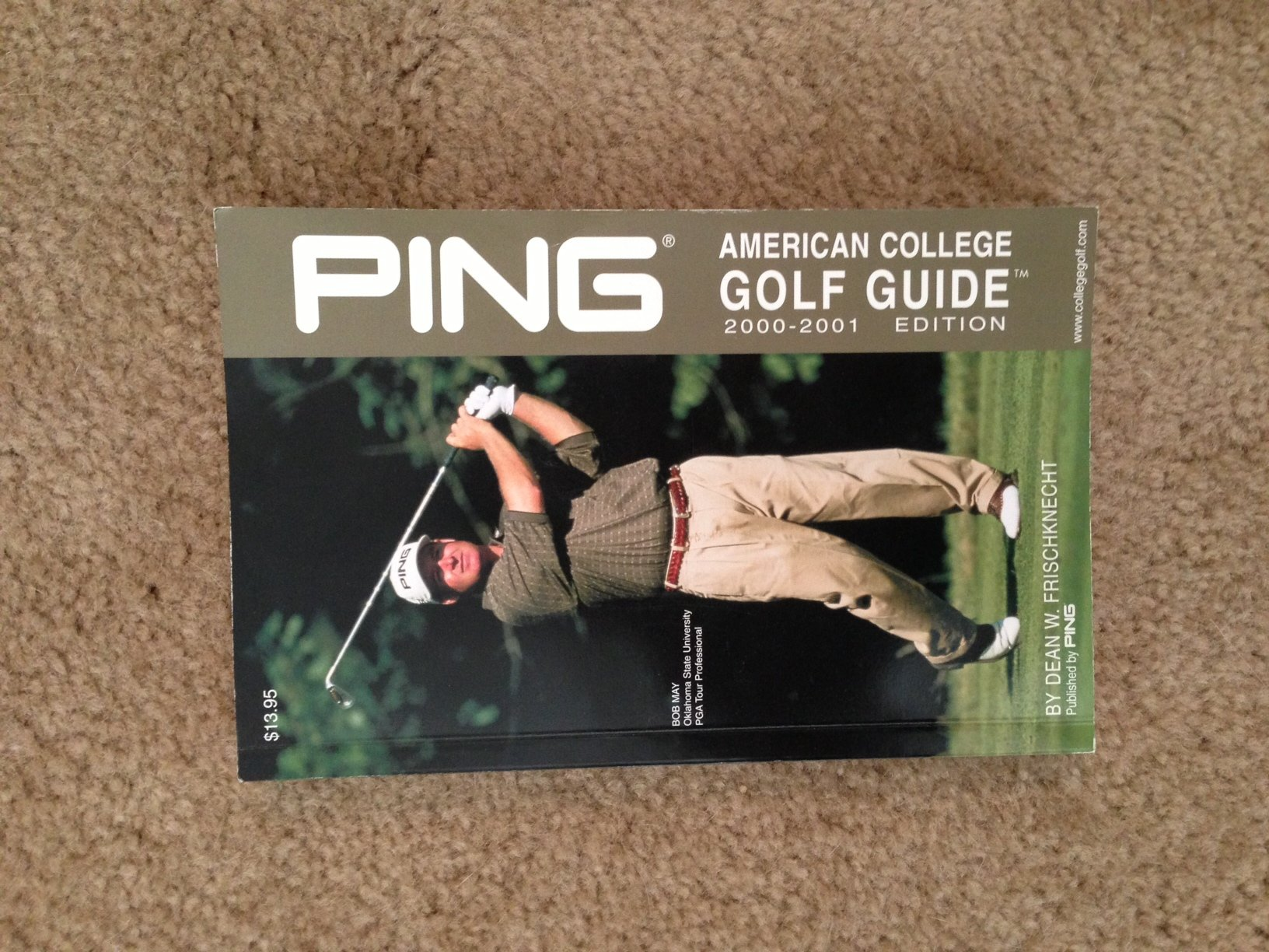 9781929259014: ping american college golf guide: 2001-2002.