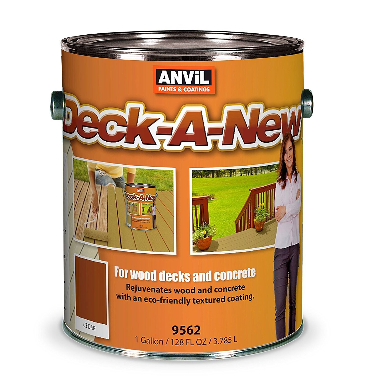 10. Anvil Deck-A-New Resurfacer Paint