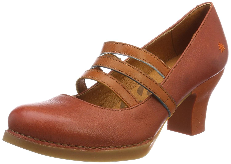 Art 1064 Memphis Harlem, Zapatos de Tacón con Punta Cerrada para Mujer 38 EU|Rojo (Petalo)