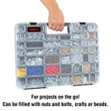 Portable Storage Case with Secure Locks and 55