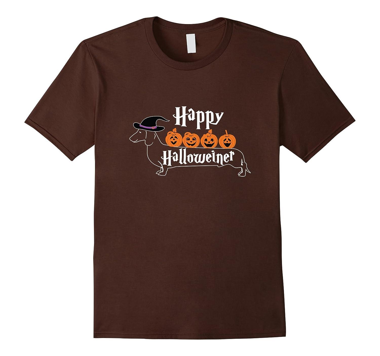 Happy Halloween Halloweiner T-Shirt Daschund Lovers