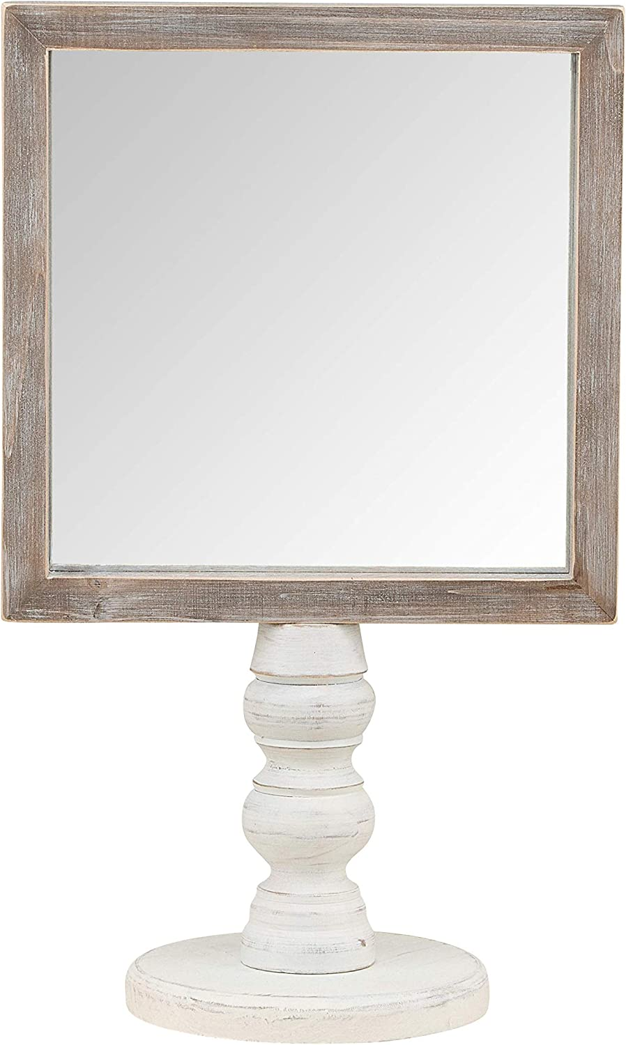 Glory Haus Affirmation Mirror Wood Shelf or Table Display Stand Multi