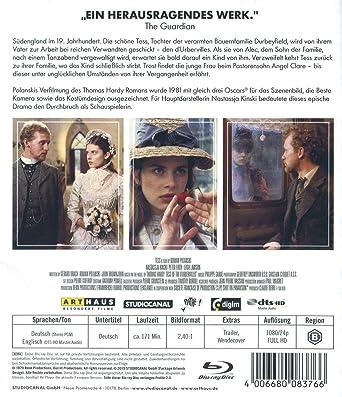 Tess [Italia] [Blu-ray]: Amazon.es: Firth, Peter, Kinski ...