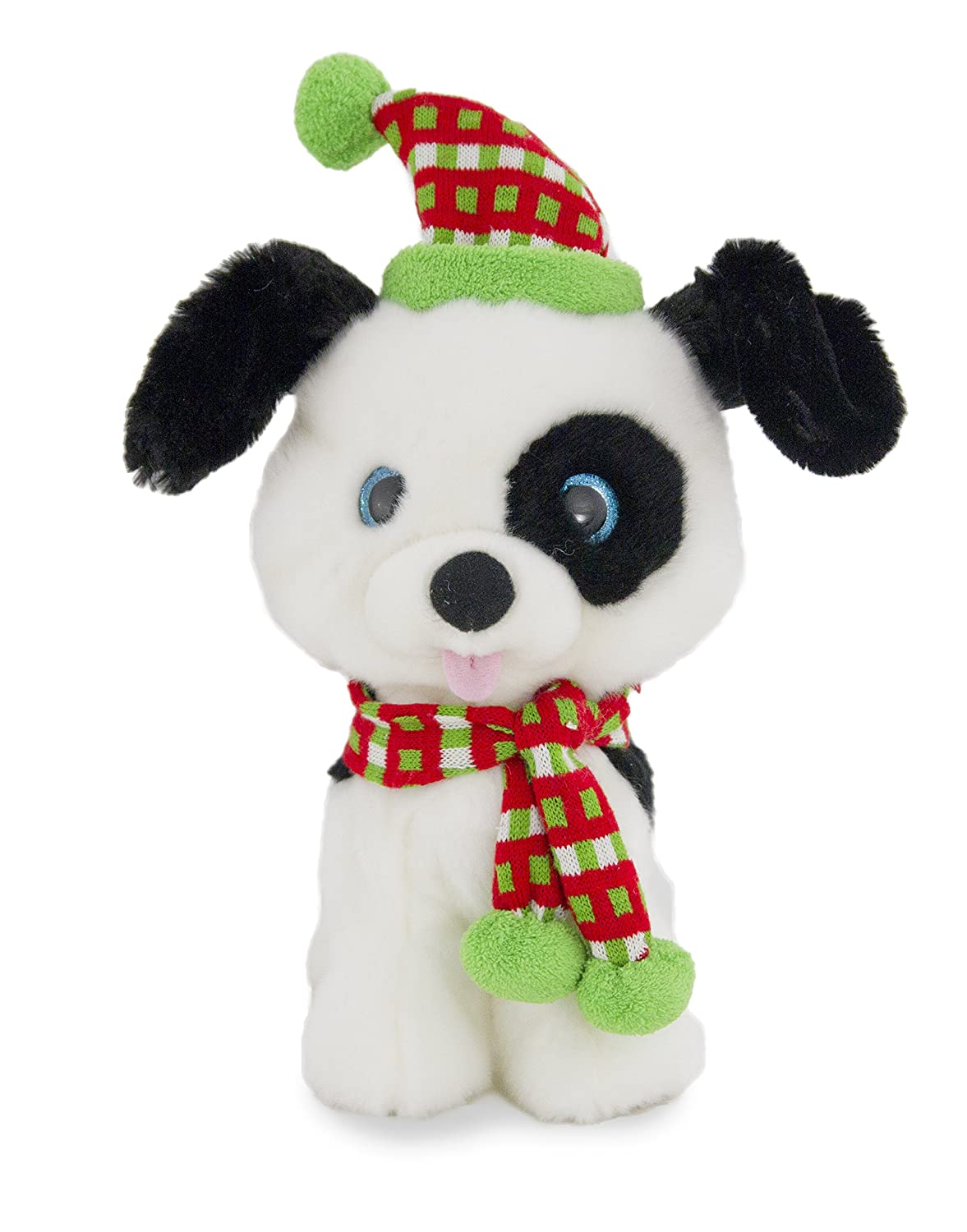 Amazon.com: Cuddle Barn's Jingle Bark Dancing Christmas Dog Plush ...
