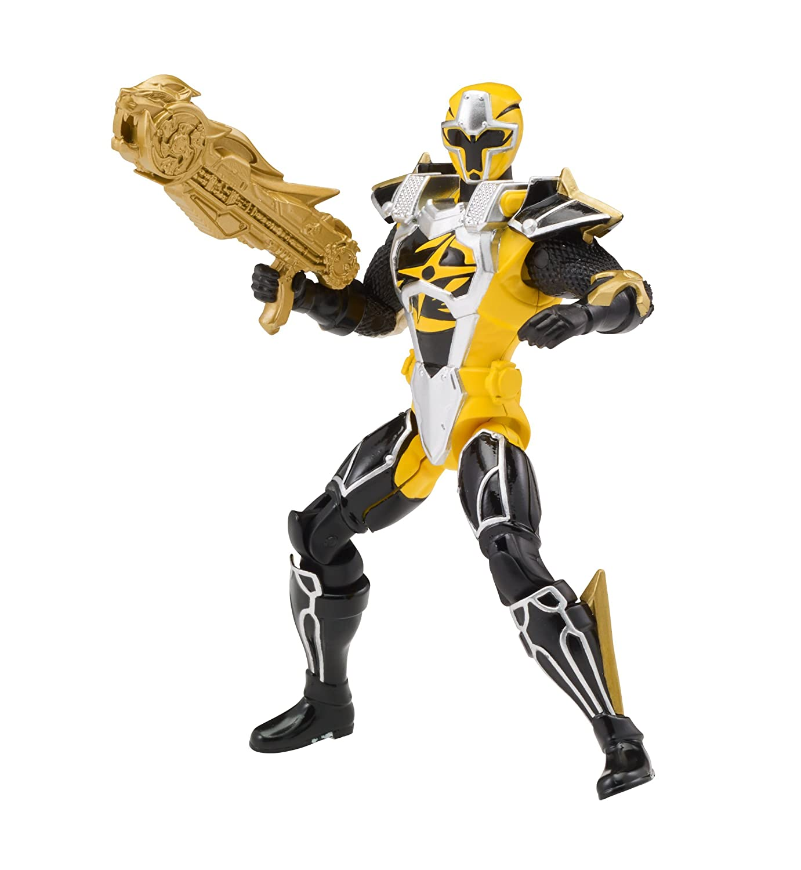 Power Rangers Super Ninja Steel - Figura articulada (12 cm ...