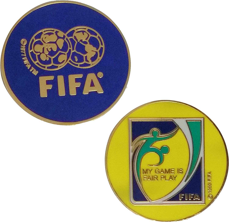 Amazon.com: Fútbol (Fútbol) Árbitro Flip/Toss Moneda: Sports ...