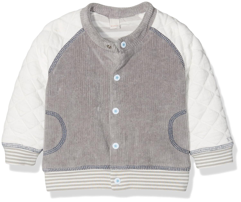 ESPRIT KIDS Unisex Baby Strickjacke Cardigan Grau (Elephant 231) 68 RI17010