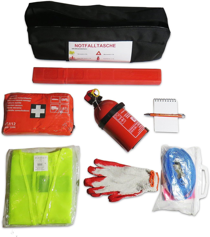Ejp Bag Praktisches Erste Hilfe Set Notfall Set Kofferraumtasche Passend Für Carens Iii Auto