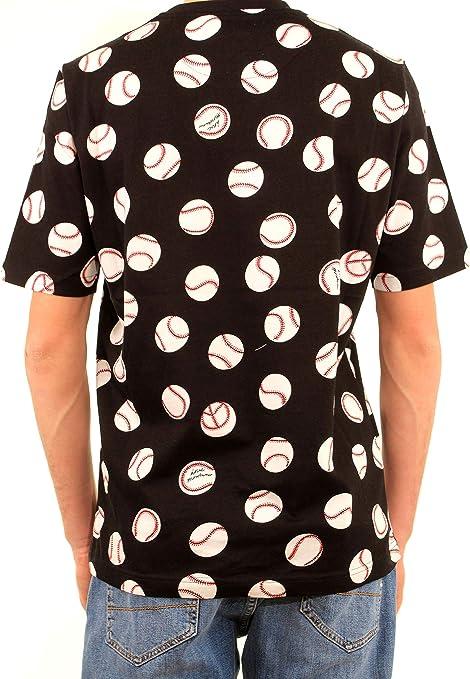 Moschino - Camiseta para Hombre, Mod. Camiseta Negra 473200 ...