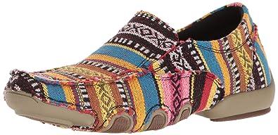 2010c48b847f ROPER Women s Liza Driving Style Loafer Multi 5 Medium US