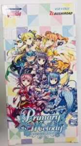 Cardfight Vanguard VGE-V-EB05-EN V-Primary Melody Extra Booster Display of 12 Packets