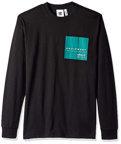 f180cb043f418 adidas Originals Men's EQT Long Sleeve Graphic Tee at Amazon Men's ...