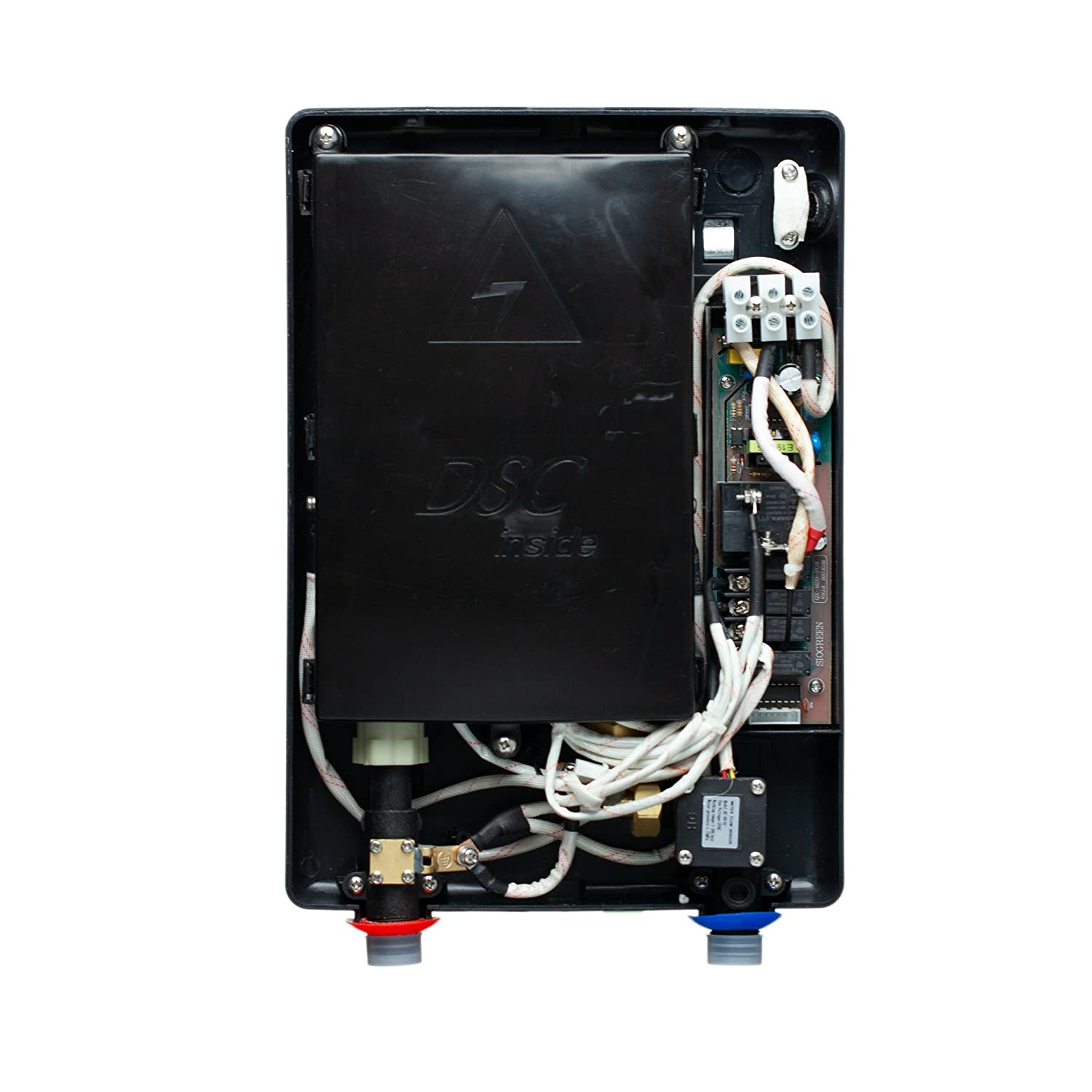 Infrared Tank-Less Instant Hot Water Heater Sio Green IR30 POU Electric Tankless Water Heater 110v 30A//3.4kW No Algae 120v // 8A No Lime Scale No Bacteria Cost-Effective /& Corrosion Free