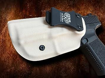 Canik TP9SF Elite Xero-Viz IWB Holster- TAN- LEFT HAND, Gun