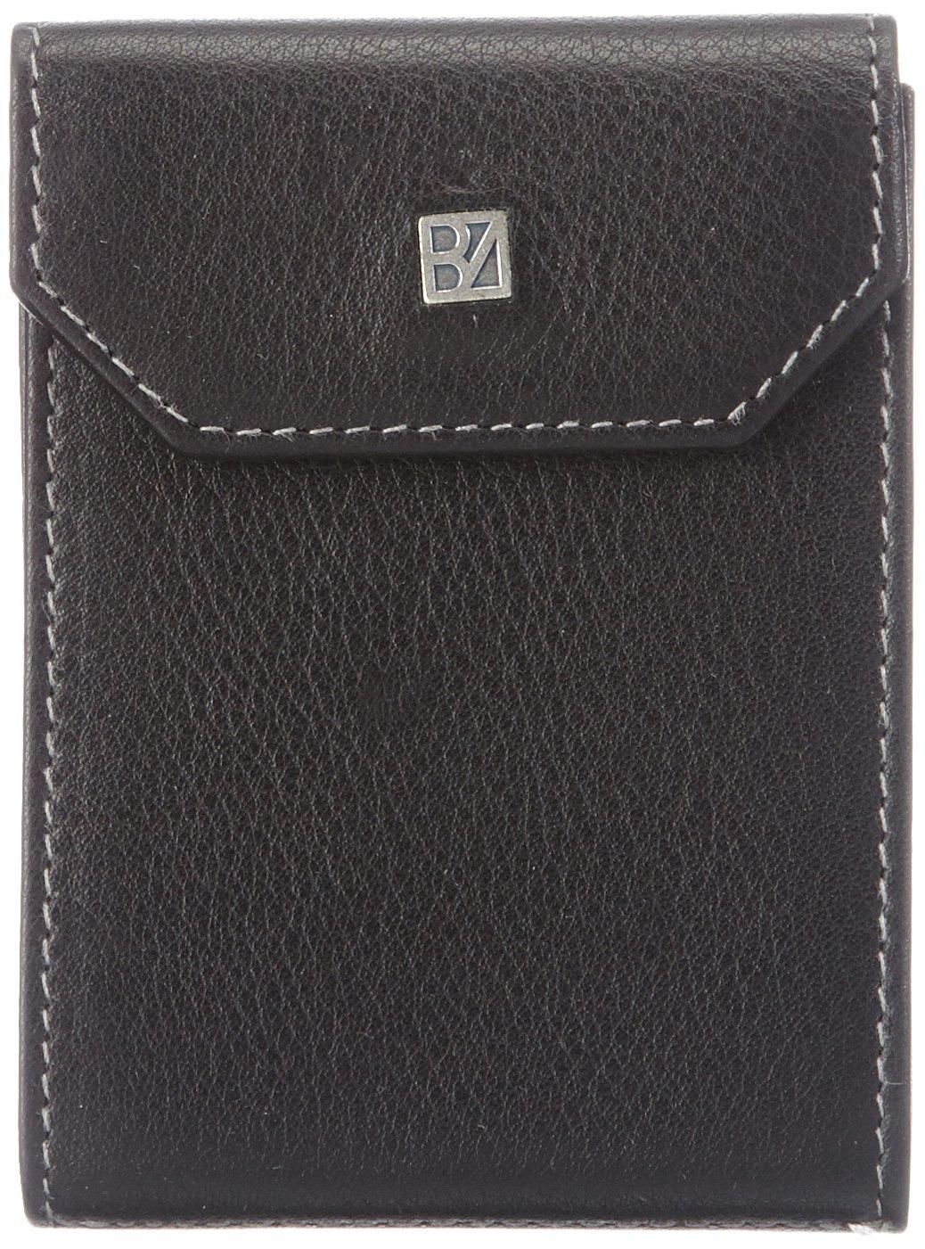Bodenschatz Hunter 8-948 HU 01, Unisex-Erwachsene Ausweis- & Kartenhüllen, Schwarz (black), 7x10x1 cm (B x H x T)