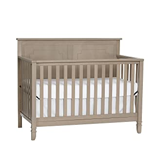Suite Bebe Asher 4-in-1 Convertible Crib, Blossom Grey Suite Bebe Asher 4-1 Convertible Crib 11300-BGY
