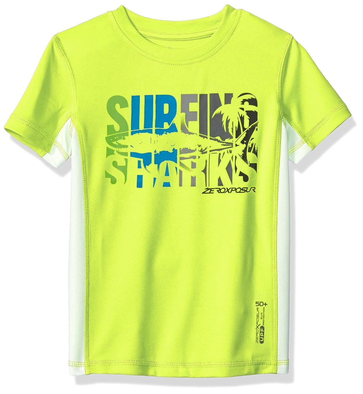 ZeroXposur Boy's Surf UPF 50+ Sun Protection T-Shirt P56100ASST