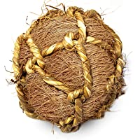 Coconut Fiber Ball for Rabbit by SunGrow - Improves Dental Health - 100% Natural Chew Toy- Provides Hours of Stimulation…