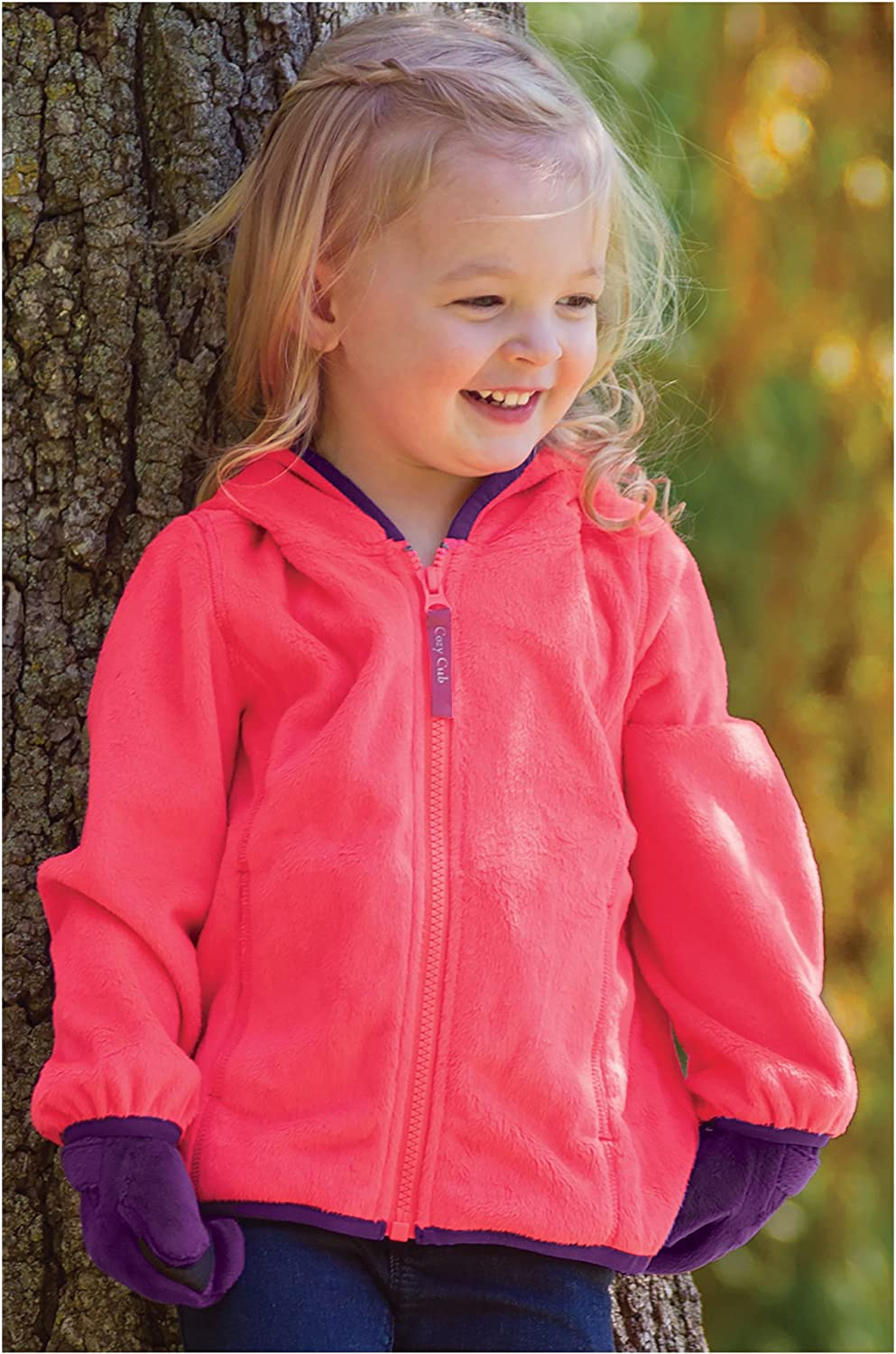 Ages 1-6 One Step Ahead Cozy Cub Waterproof Grow-with-Me Winter Parka with Fleece Insert