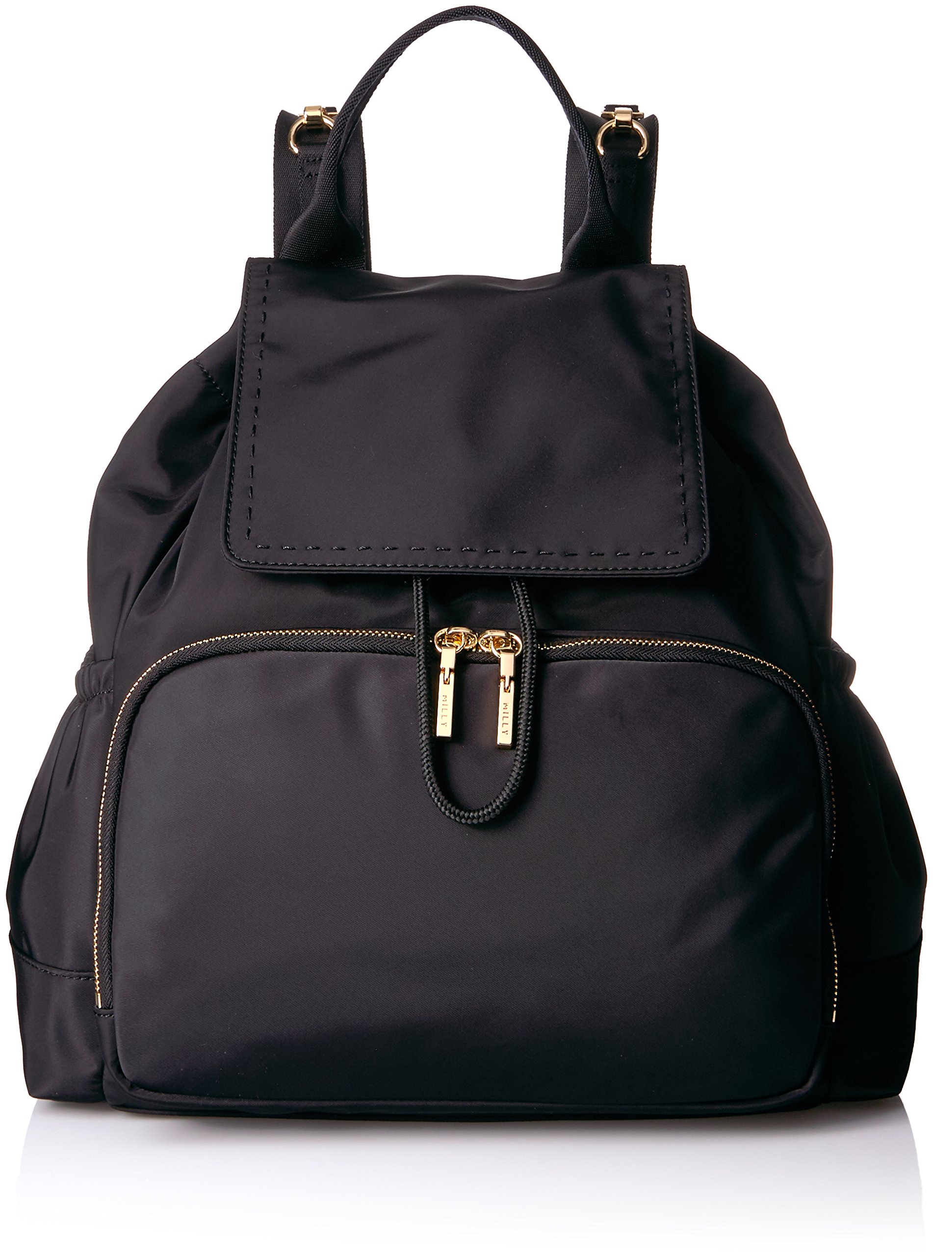 MILLY Women's Backpack Diaper Bag, black by MILLY