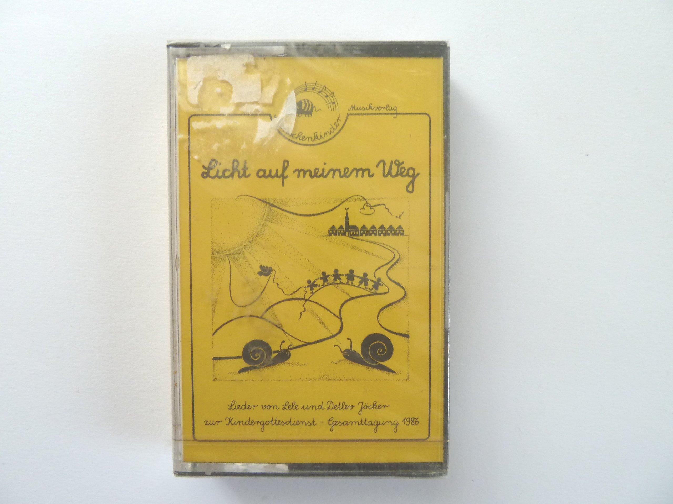 Licht auf meinem Weg, 1 Cassette Hörkassette – Audiobook, 1986 Detlev Jöcker Lele Jöcker Menschenkinder 3927497150