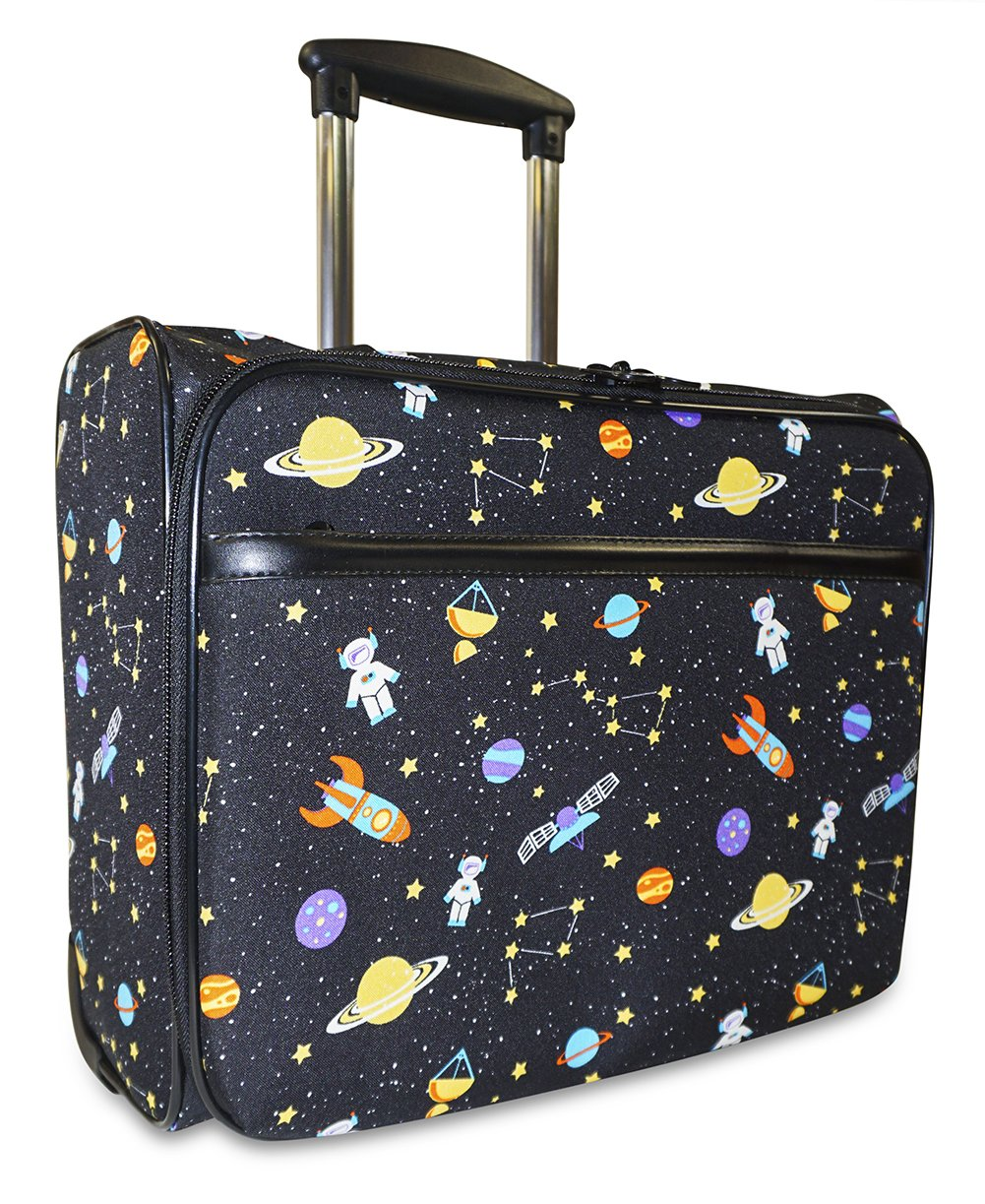 Ever Moda Galaxy Rolling Wheeled Laptop Case
