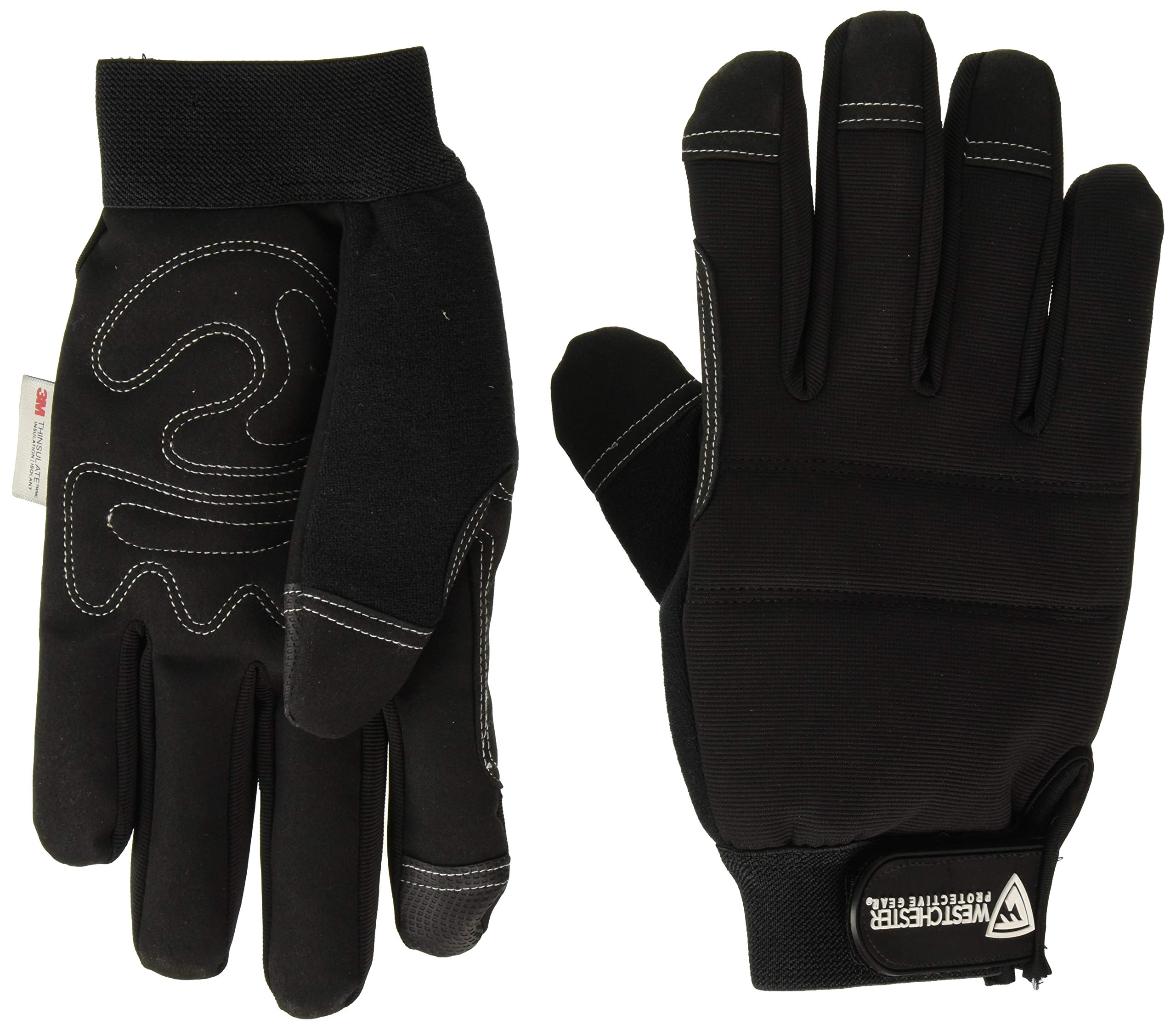 WEST CHESTER 96580/L Hi-Dex Thin Long Glove, Large by West Chester