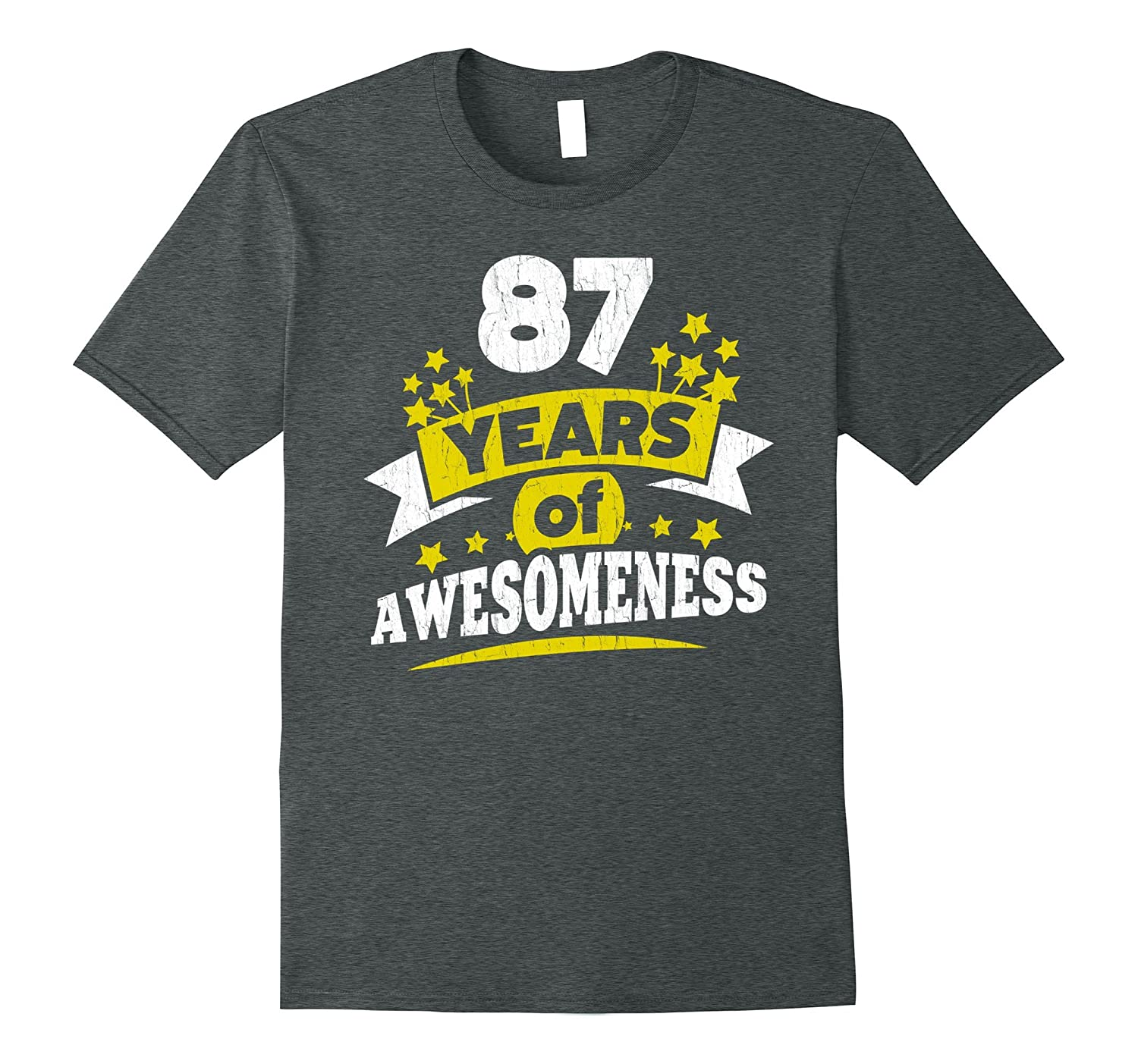 Birthday Gift For 87 Year Old Woman 87th Tee Shirt PL