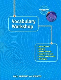 Amazoncom Vocabulary Workshop Second Course 9780030430176