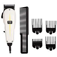 Wahl Super Taper - Maquina cortapelos, cuchillas cromadas, con accesorios