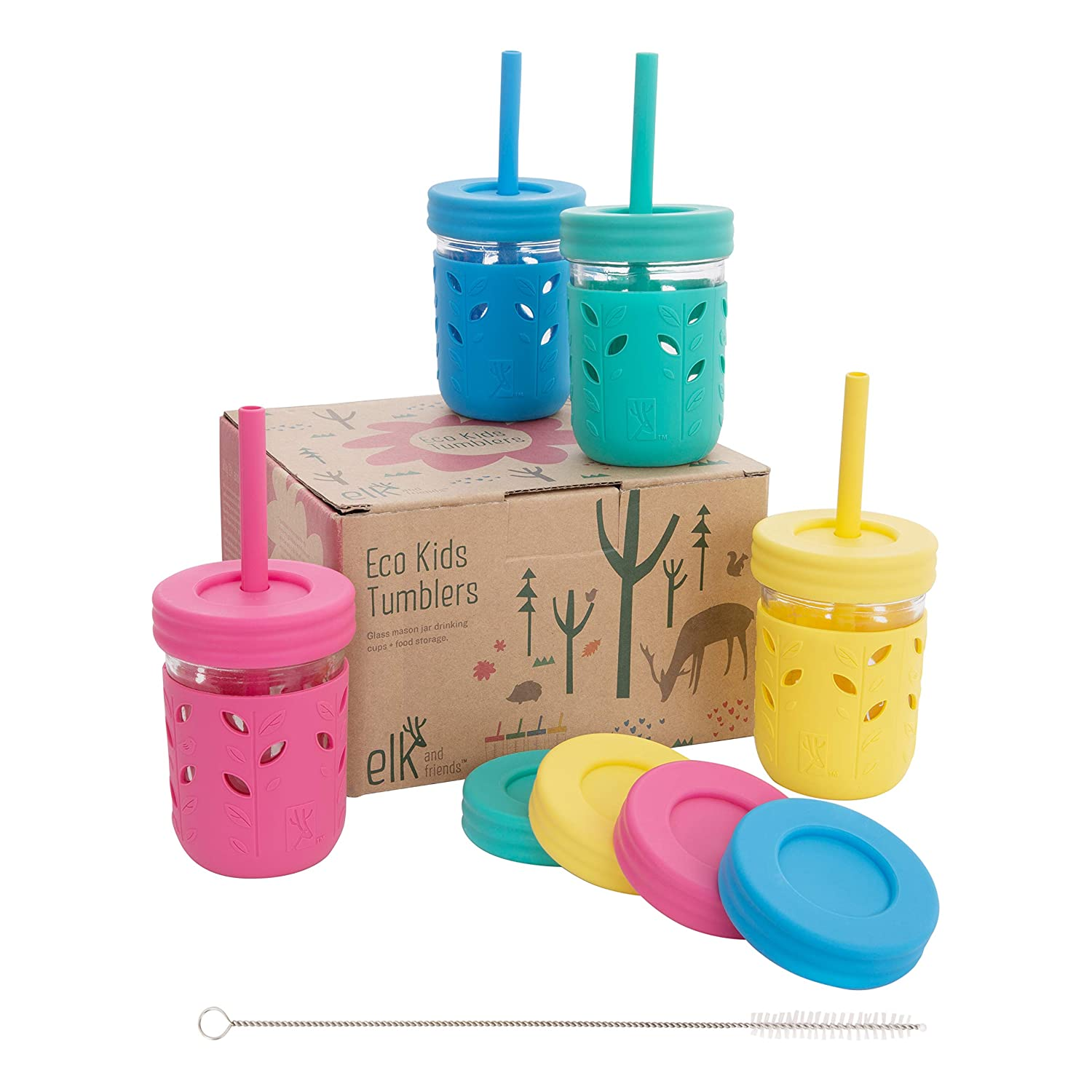 Elk and Friends Kids & Toddler Cups