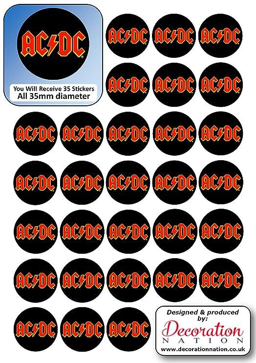 17 x DIY monedas de chocolate con 35 x 35 mm pegatinas hoja ...