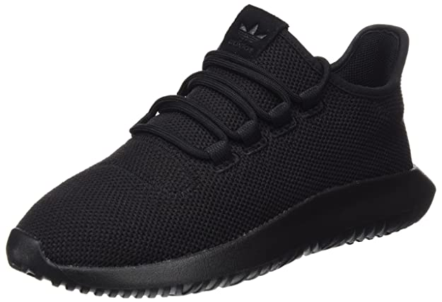 Amazon.com | adidas Originals Tubular Shadow J Black Textile 4.5 M US Big Kid | Fashion Sneakers