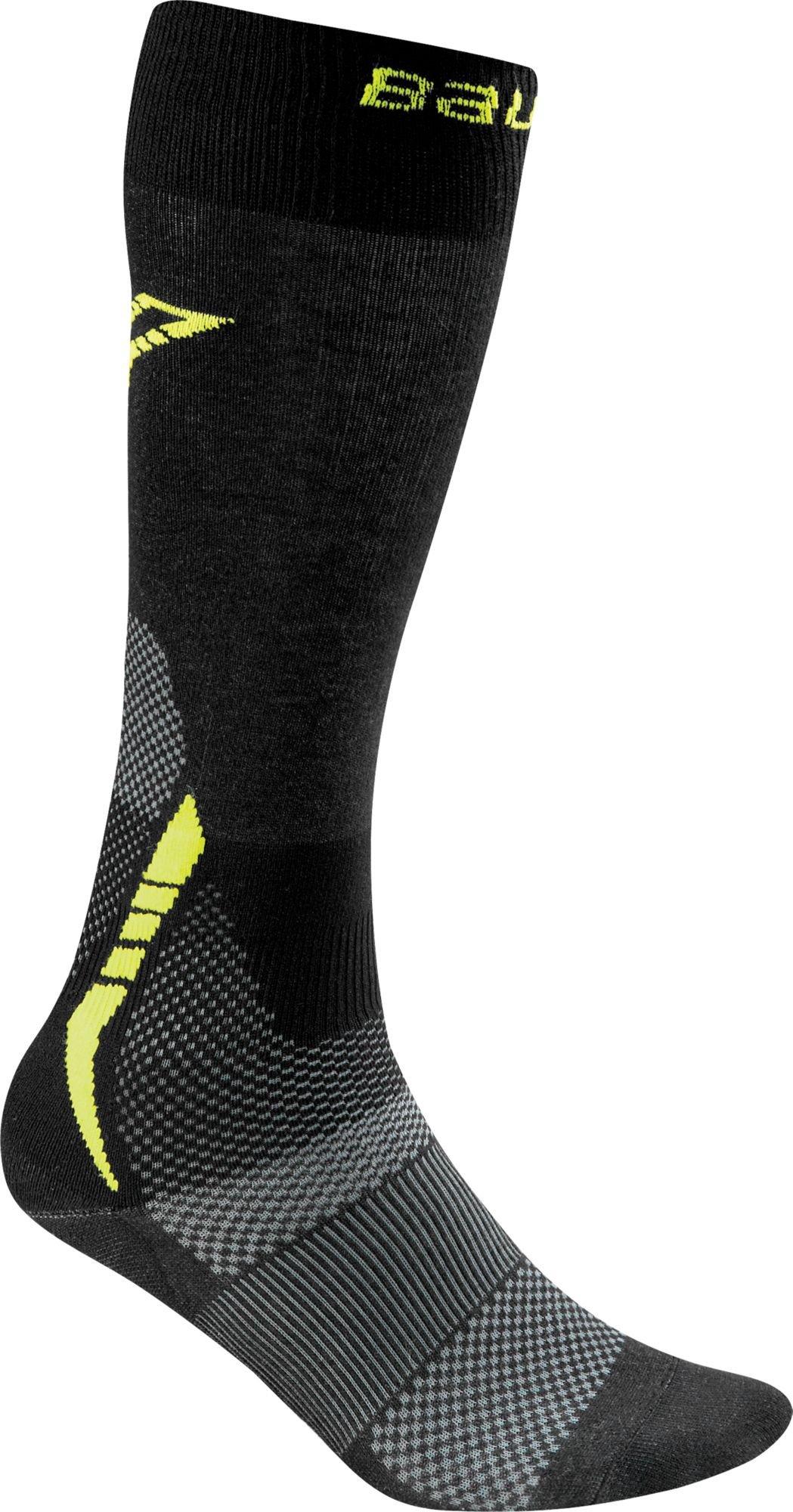 Bauer Premium Tall Hockey Skate Socks - Black, XL