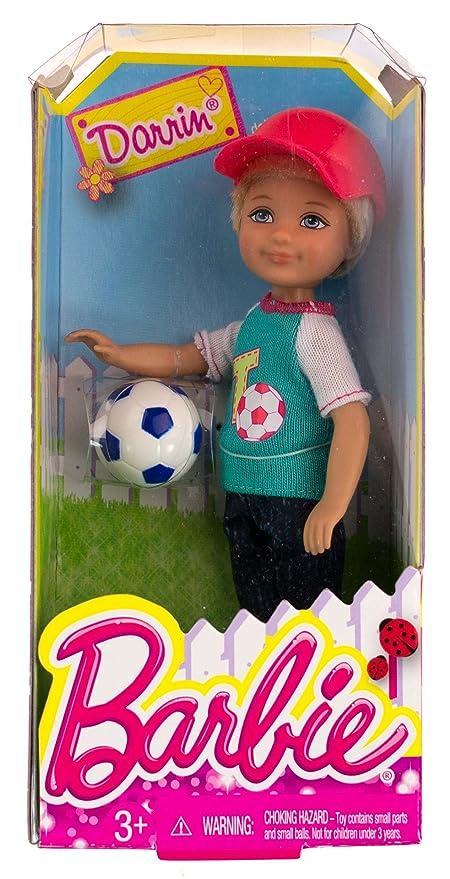 Amazon.com: Darrin W/Balón de fútbol: Barbie Chelsea & ...