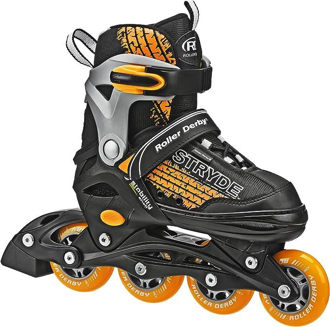 Roller Derby Stryde Boy's Adjustable Inline Skates